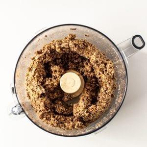 pulse all orange almond pulp energy balls ingredients in food processor