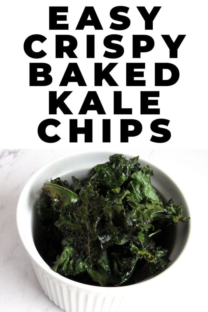 easy crispy baked kale chips