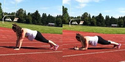high to low plank how to