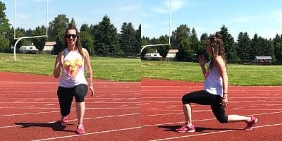 reverse lunge how to