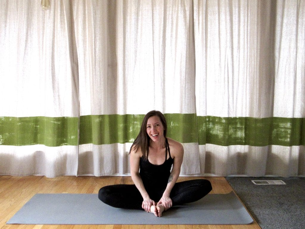 10 minute yoga for your period