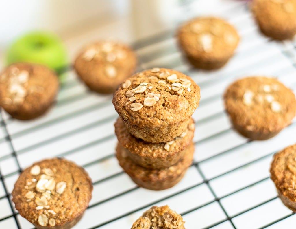 oatmeal almond flour muffins