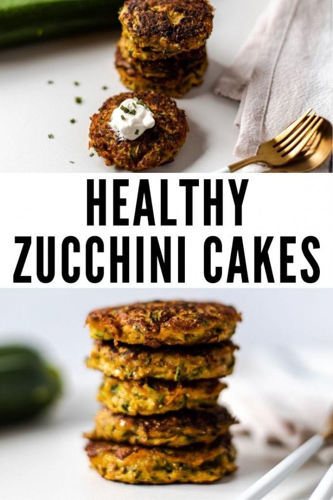healthy zucchini cakes