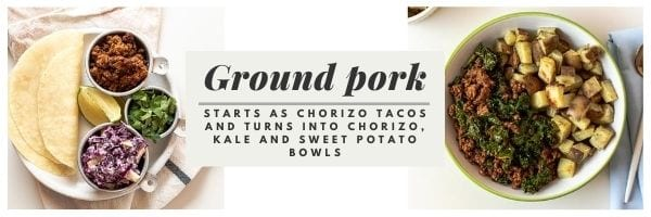Fit Mama Meal Plans Ground Pork Meals