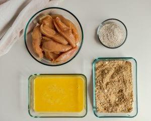 Crunchy peanut chicken strips how to