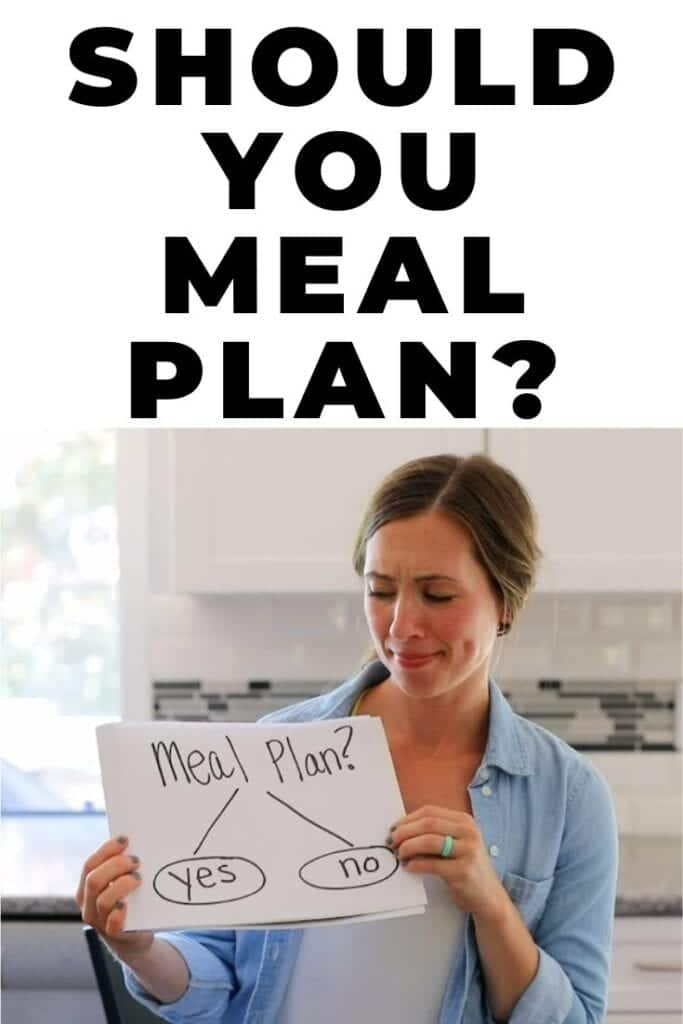 should you meal plan?