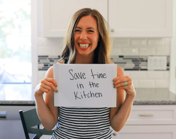 strategies to save time in the kitchen