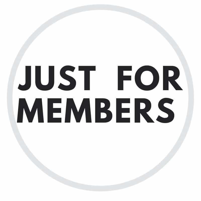 just for members
