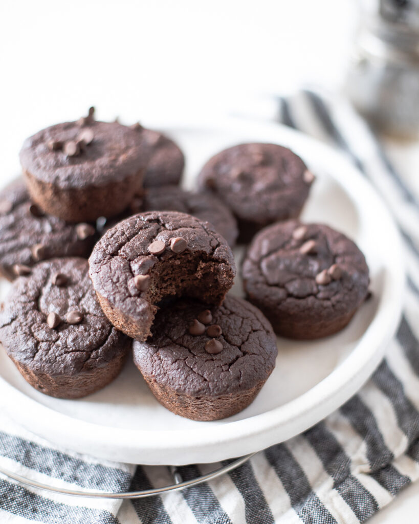 healthy mocha muffins