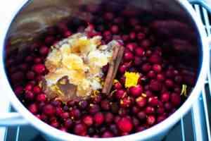 how to make no sugar cranberry sauce
