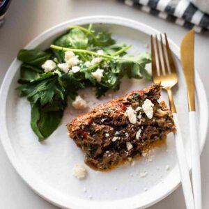 greek lamb meatloaf