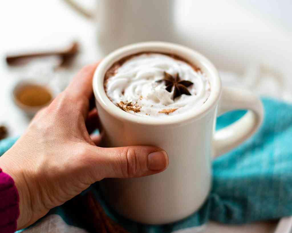 dairy free chai hot chocolate