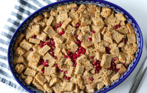 how to make dairy free eggnog French toast casserole