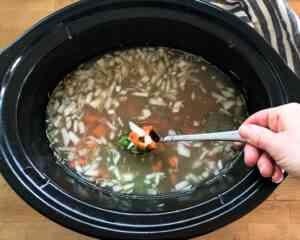 how to make Crockpot split pea soup with ham