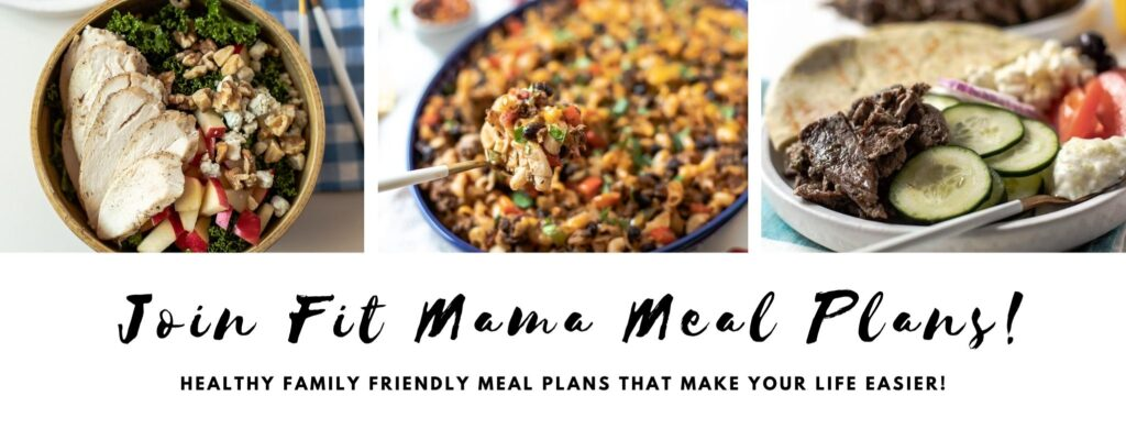 Join Fit Mama Meal Plans