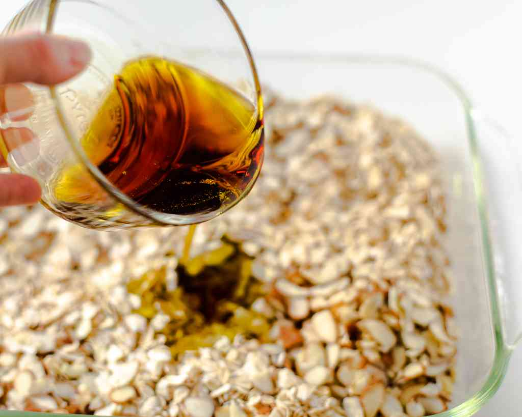 How to make Maple Almond Olive Oil Granola