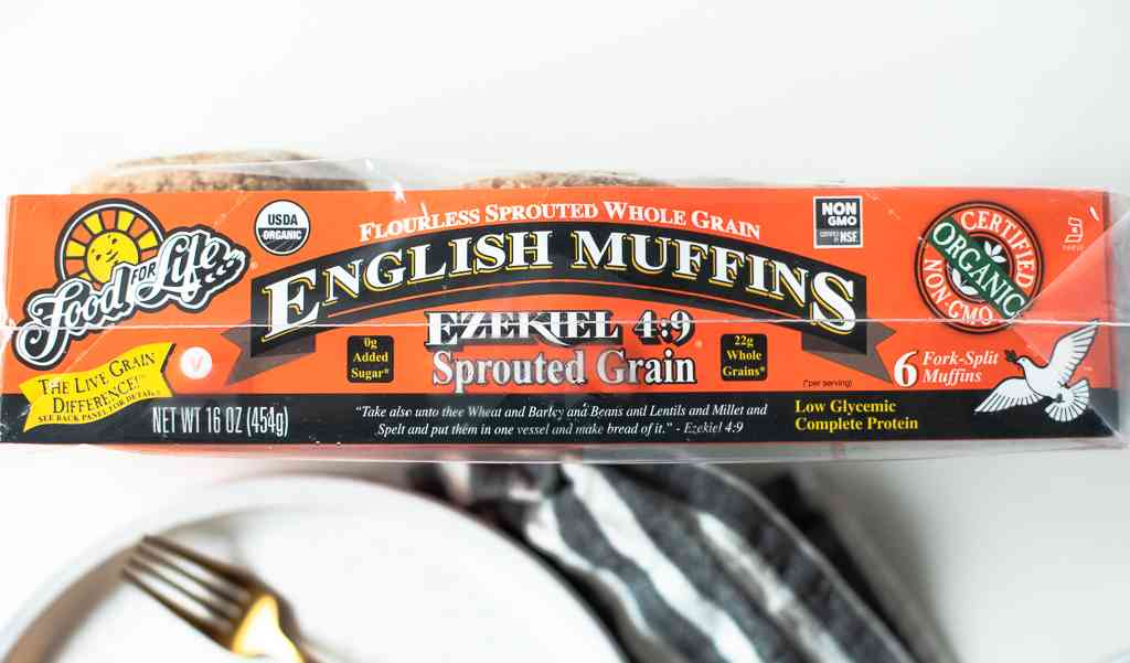 sprouted whole grain English muffins