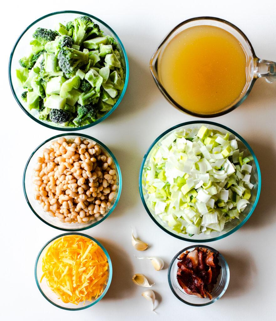 Creamy Broccoli and White Bean Soup