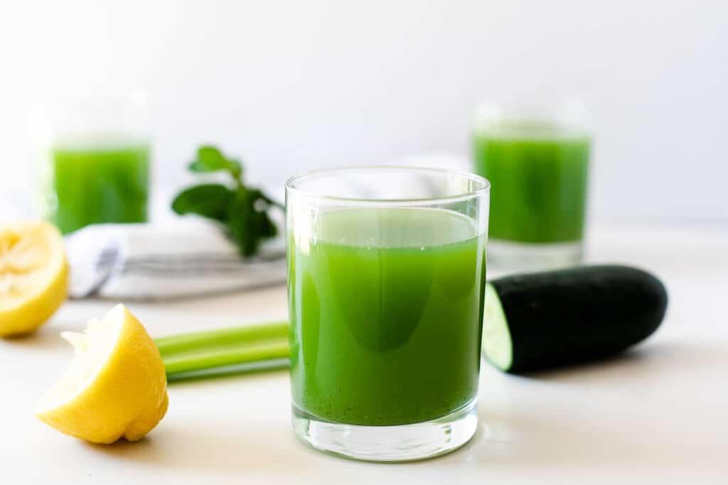 celery and cucumber juice
