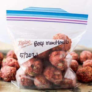 freezer meatballs