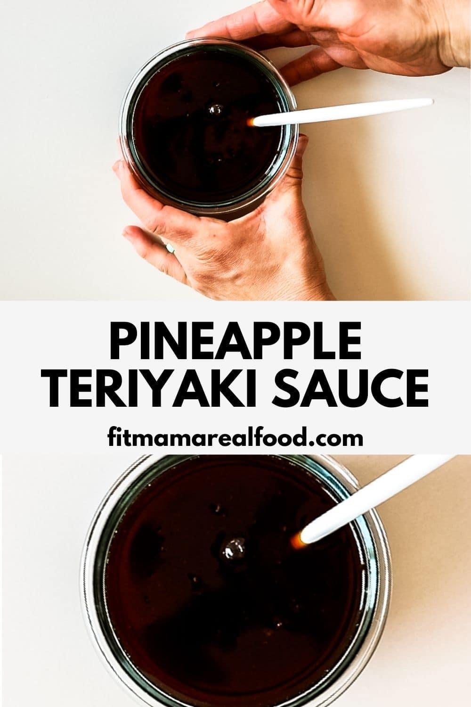 pineapple teriyaki sauce