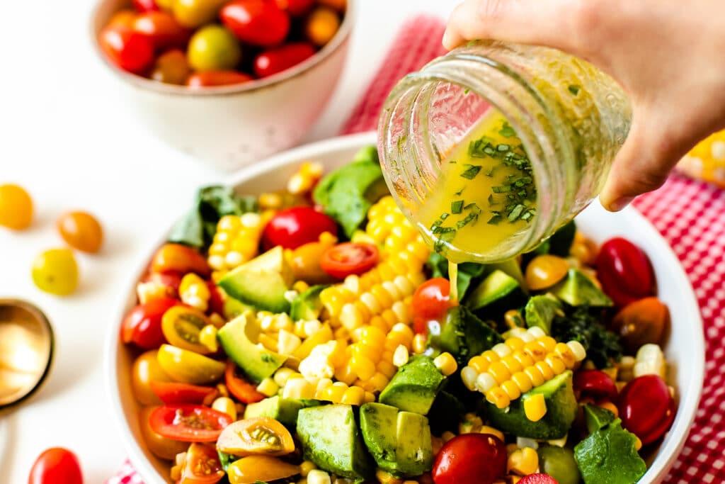 tomato avocado corn salad-8