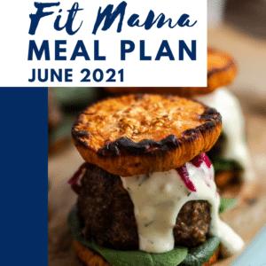 June 2021 meal plan