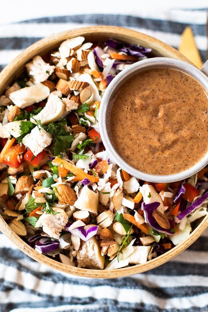 asian chicken chop salad