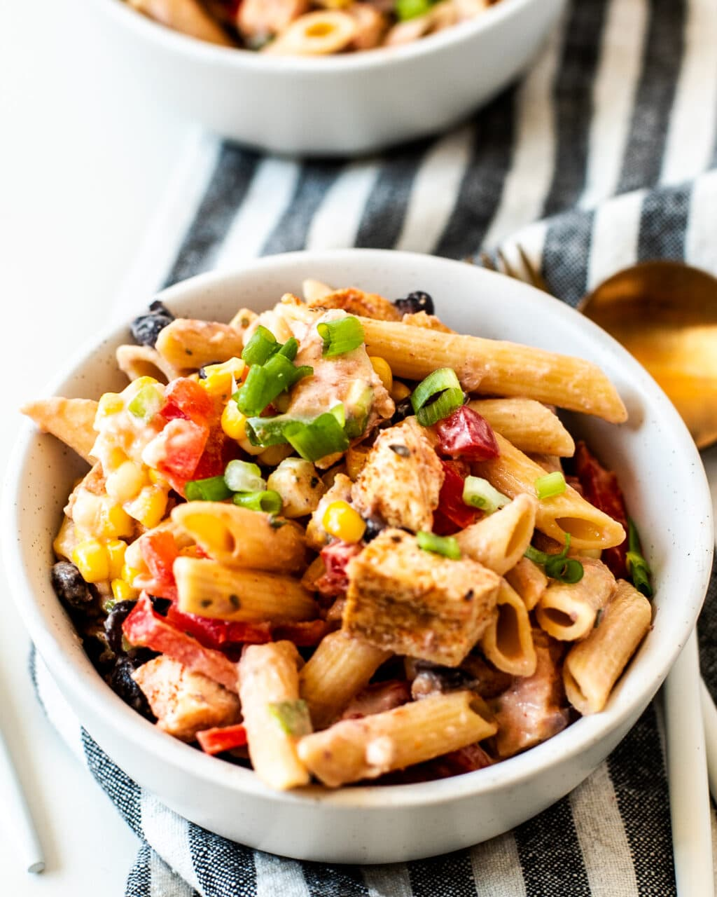 mexican pasta salad with chicken