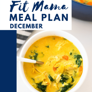 December FIT MAMA MEAL PLAN