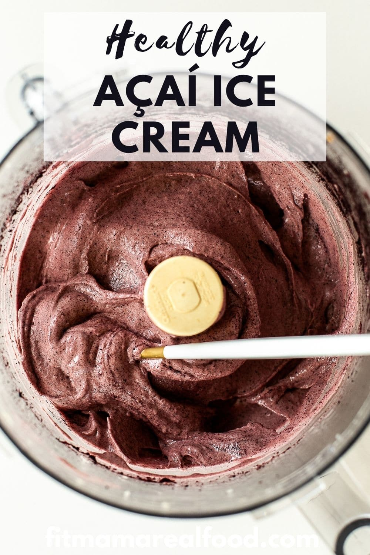 Healthy Acai Ice Cream
