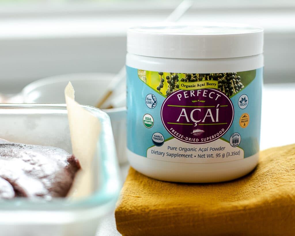 Freeze dried organic Acai powder